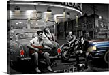 james dean chris consani - Chris Consani Premium Thick-Wrap Canvas Wall Art Print entitled Legendary Crossroads 24