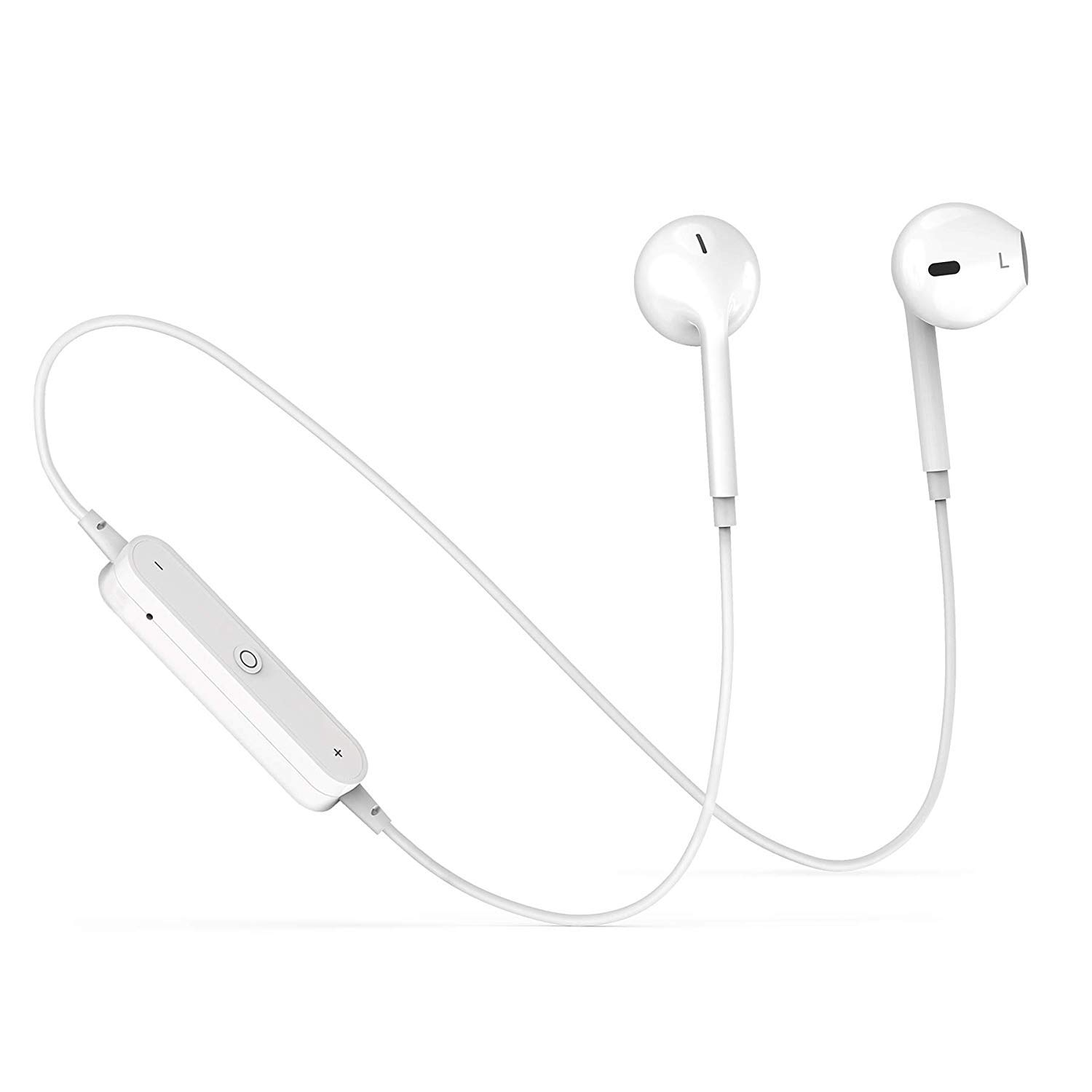 Bluetooth Headphones, in-Ear Wireless Earbuds, 4.2 Waterproof Sports Bluetooth Earphones with Mic Noise Cancelling Stereo Wireless Bluetooth Headphones for Gym Running Workout TTB001