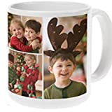 Design Your Personalized Photo Coffee Mug - Upload your logo or photo to create your custom mug