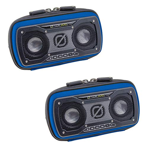 Goal Zero (2 Pack) Portable Speaker, Outdoor Speaker for Phone, iPod, MP3, Travel, Camping, Party with Aux Input, Link Capability and Dark Bass Technology by Goal Zero