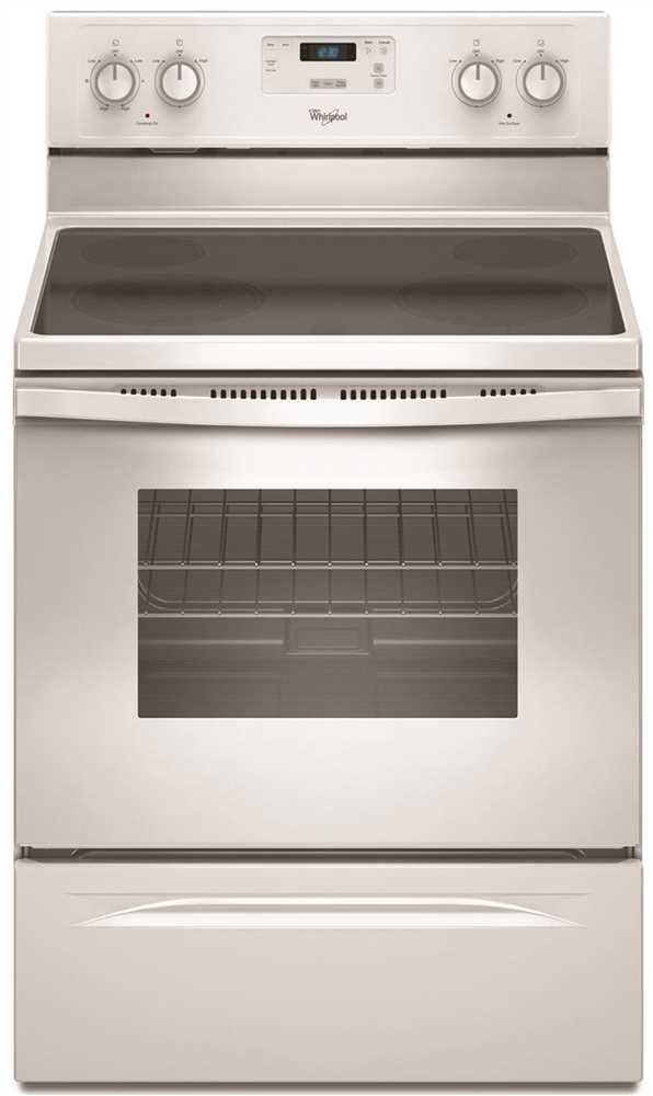 """WHIRLPOOL RANGES, OVENS & COOKTOPS 1029997 30"""" 4.8 cu.ft. Single Oven Free-Standing Electric Range, White"""