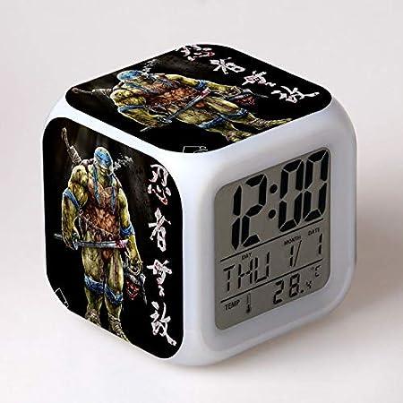 HHKX100822 Adolescente Mutante Ninja Tortugas Alarma Reloj ...