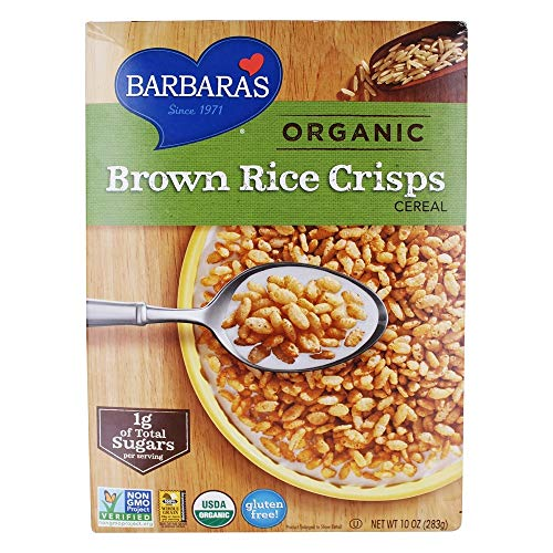 (Barbara's Bakery Organic Brown Rice Crisps Cereal, 10 oz)