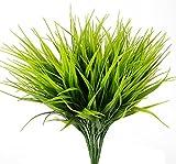 Artificial Plants, Aplstar Vibrant Plastic green Faux grass for Home Decor, ...