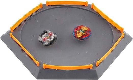 Womdee Spinning Tops Arena, Lanzador de Juguetes Giratorio, DIY ...
