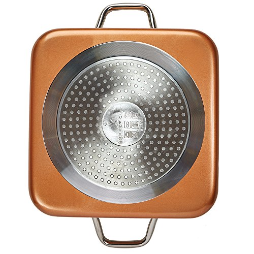 Copper Chef 8''/11'' Deep Dish Pan 4 Pc Set by Copper Chef (Image #4)
