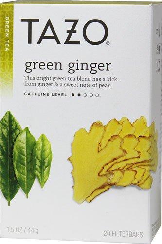 Tazo Green Tea Ginger -- 20 Tea Bags