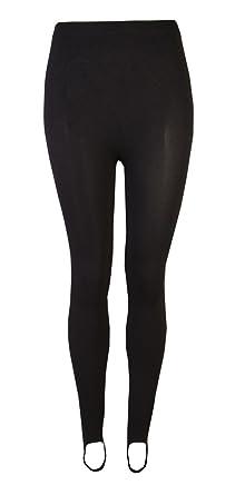 Love Lola Womens Ski Pants Ladies Stirrups Stretch Winter Leggings Black (S) 617aa4294