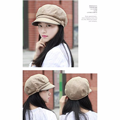 otoño algodón del gorra sombrero de Xiaogege y productosPrimavera cap lindo Tapa de boina Nuevos Hat hembra marrón de punta Brown moda ttw0aZq
