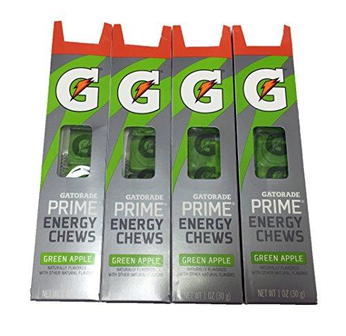 Gatorade Green Apple Chews 4 Pack]()