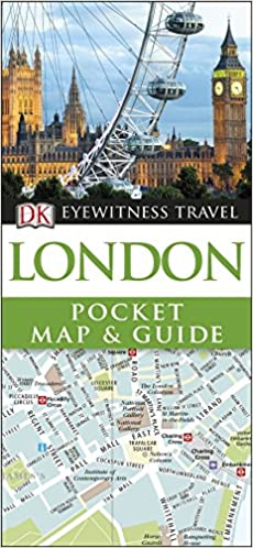 Easy London Map.London Pocket Map And Guide Dk Eyewitness Travel Guide Amazon Co
