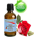 """Botanical Beauty DAMASK ROSE ABSOLUTE Pure / Natural 3% Oil Blend. 0.33Fl oz - 10ml. One Of The Best Anti Aging Oils For Skin Toning, Balancing, And Hydration."""""""