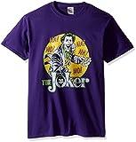 DC Comics Men's the Joker T-Shirt, Purple, X-Large