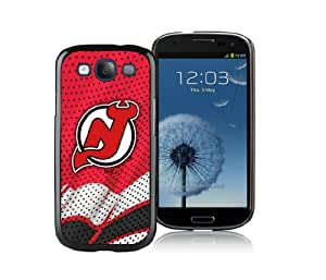 WOWCASE New Jersey Devils NHL Samsung Galaxy S3 Rugged Case, NHL Samsung S3 case for Sport Fan-Christmas Gift