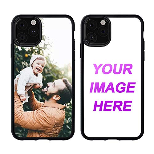 Customized Case for iPhone 11 Pro Max Personalized Custom Picture Phone Case Customizable Slim Soft and Hard Tire Shockproof Protective Phone Cover Case Make Your Own Phone Case (Best Custom Iphone Cases)