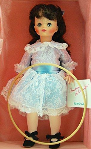 Madame Rare Dolls Alexander - 1986 - Madame Alexander - Item #1574 - Renoir Girl w/ Hoop - Fine Art Series / 14 Inches Tall - OOP / MIB - New - Very Rare - Collectible