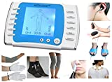 Digital Therapy Machine Medicomat Conductive Socks Gloves Knee Elbow Pads and Laser Therapy