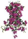 Artificial 24-inch Violet Fuchsia Bougainvillea Trailing Bush (Set of 6)