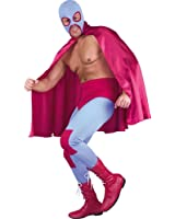 Adult Mexican Wrestler Costume Size 38