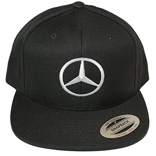 Limited Edition  Mercedes Benz Black   Emerald Flat Bill Hat Snapback Cap 26a2f204fe1a