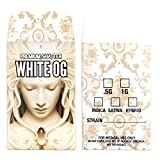 500 Premium Shatter Labels WHITE OG Concentrate Packaging Extract Envelopes #100