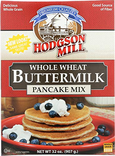 Hodgson Mill Pancake Flour, Whole Wheat Buttermilk, 32 Ounce