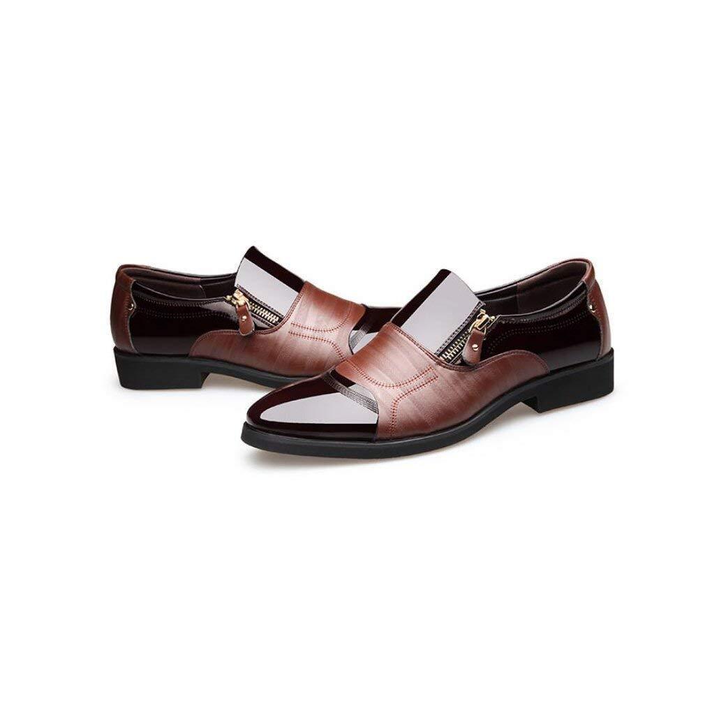 FuweiEncore Mens Formale Schuhe, 2018 Männer-Business-Kleid Männer-Business-Kleid Männer-Business-Kleid Lässige Schuhe, Mode Glänzende Lederspitzen Herrenschuhe Setzen Fuß,braun,41 (Farbe   Wie Gezeigt, Größe   Einheitsgröße) 80d57a