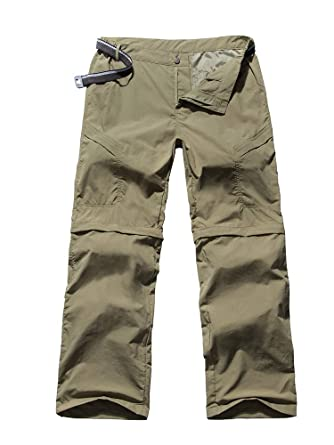 8a673549f6c0c Women s Outdoor Anytime Quick Dry Cargo Pants Convertible Hiking Camping  Fishing Zip Off Stretch Trousers 6063