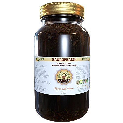 Tian Men Dong Tincture, Tian Men Dong, Asparagus (Asparagus Cochinchinensis) Root Liquid Extract, Herbal Supplement 32 oz Unfiltered by HawaiiPharm by HawaiiPharm