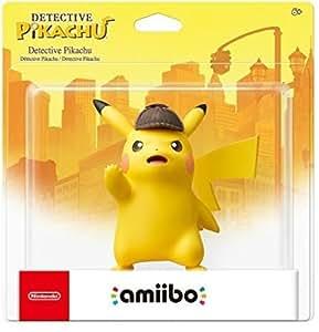 Nintendo Amiibo: Figura de Action Detective Pikachu - Limited Edition