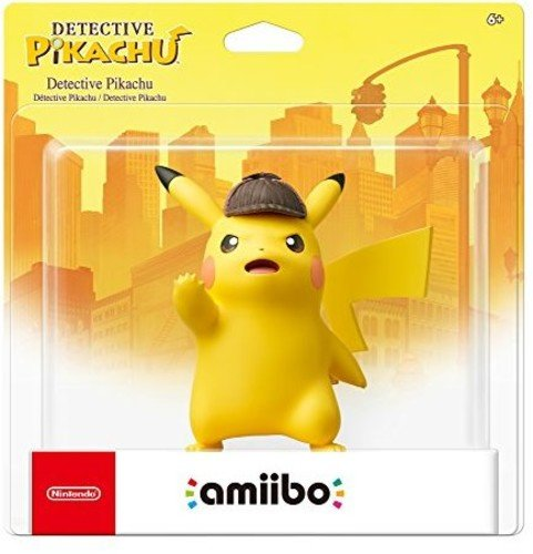 Top detective pikachu amiibo figure for 2020