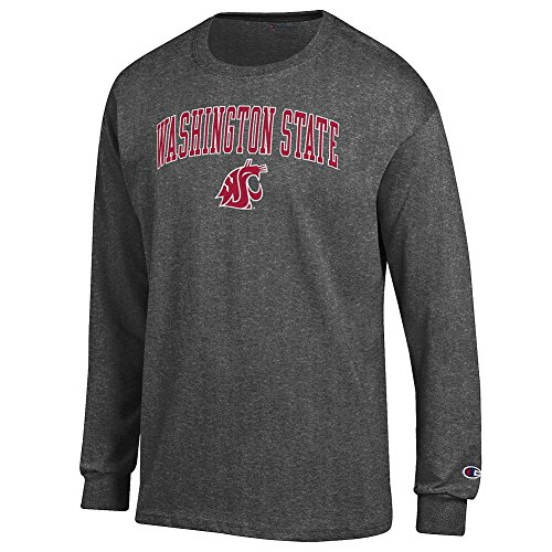 Washington State University Clothing (Washington State Cougars Long Sleeve TShirt Charcoal -)