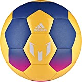 adidas Performance Messi Soccer Ball, Blue/Solar Orange/Shock Pink, Size 5