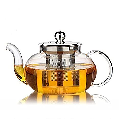 Amazon Com Glass Filtering Tea Maker Teapot With A Infuser A