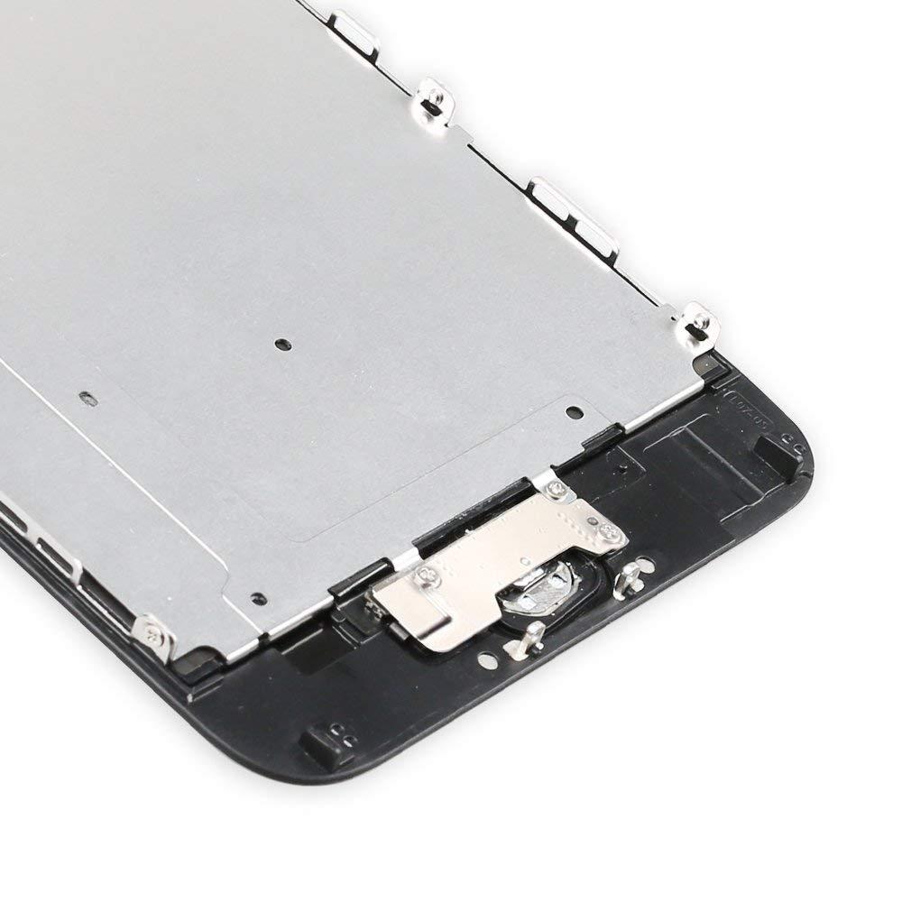 +Herramienta Yodoit Para iPhone 6 Plus Blanco LCD Pantalla Digitalizador Pantalla T/áctil de Cristal Reemplazo con Piezas de Repuesto C/ámara Frontal, Sensor Flex, Altavoz Auricular, Bot/ón de Inicio