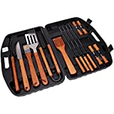 Xena 18 PIECE BBQ Tools Set Kit Case Stainless Steel Grill Cooking Outdoor Utensils Professional Grilling Accessories for the Expert, Complete Outdoor Kit
