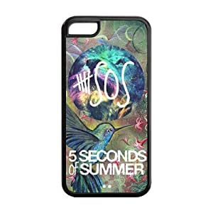 5SOS Super Fit iPhone 5c Cases Solid Rubber Customized Cover Case for iPhone 5c 5c-linda1068