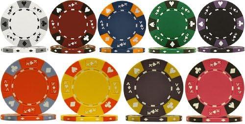 253色Ace King Clay 14gm Poker Chips–Chooseチップ