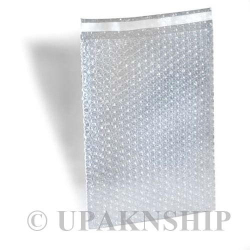 [500 4X5.5 BUBBLE OUT BAGS BUBBLE WRAP POUCHES SELF SEAL 2 x 250] (Recycled Material Costume)