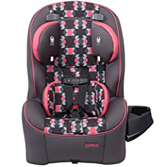 Cosco makes choosing the right car seat simple! The Easy Elite 3-in-1 car seat has your family covered from rear-facing baby to big kid booster with a range of 5-80 pounds. The Easy Elite also adapts to your growing family with the ability to...