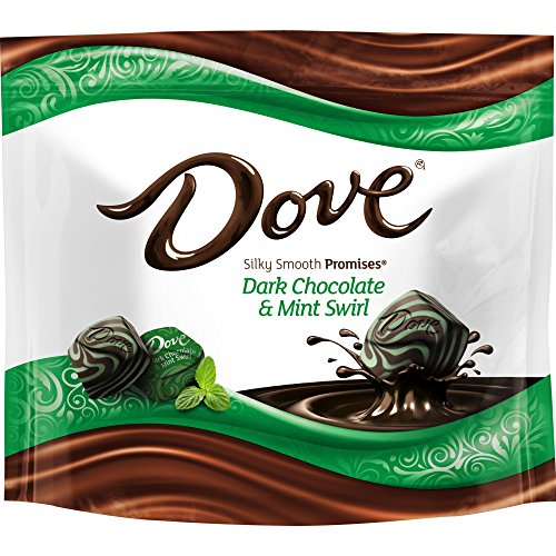 Dove Promises Dark Chocolate Mint Swirl Candy Bag, 7.61 Oz