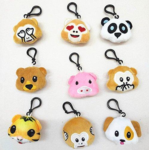 NIVIY Cute Animal Emoji Creative Mini Emoji Emoticon 2.4
