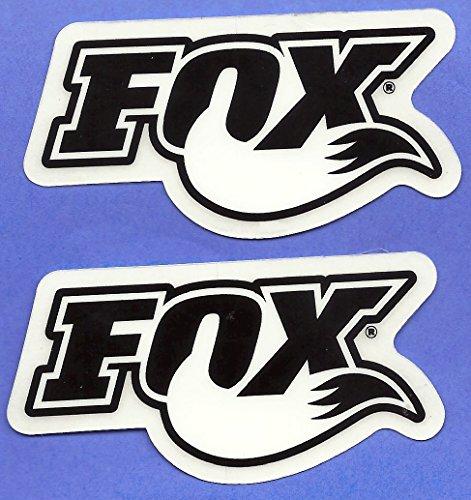 Fox Shocks Racing Decals Stickers Set of 2 Dirt Bike Motorcycles Supercross Motocross ATV