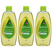 Johnson's Baby Shampoo No More Tears with Chamomile for Light Shiny Hair 10.1 Ounces/300 Ml (Pack of 3)