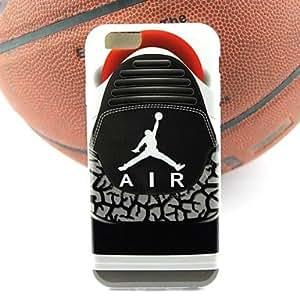GDW air jordan zapatillas de deporte de diseño de piezas estuche blando iii TPU para el iphone 6 (colores surtidos) , 5#