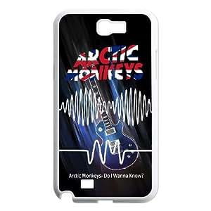 Arctic Monkeys Samsung Galaxy N2 7100 Cell Phone Case White SUJ8520167