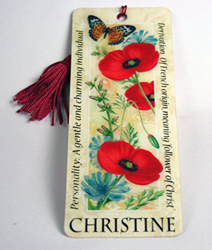 history-heraldry-christine-chris-bookmark-reading-personalized-placemarker-001890107-hh