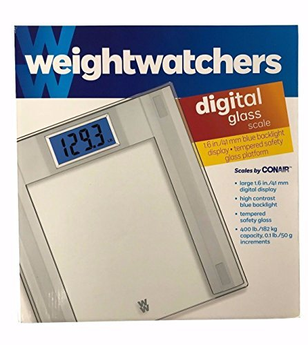 Weight Watchers Digital Glass Scale by Conair (square support) by Conair