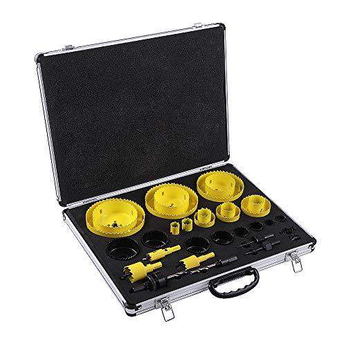 Rocaris 32 Pack Bi-Metal Hole Saw Kit, 3/4