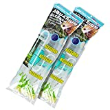 buy TERA PUMP 2 Pumps Genuine Aquarium Fish Tank Gravel Sand Cleaner with Long Nozzle N Water Flow Controller BPA Free TRFTCLN now, new 2018-2017 bestseller, review and Photo, best price $24.99